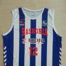 Coleccionismo deportivo: CAMISETA BALONCESTO MATCH WORN BASKONIA BASKET. Lote 198328377