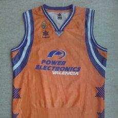 Coleccionismo deportivo: CAMISETA BALONCESTO VALENCIA BASKET ACB NUEVA. Lote 198501732