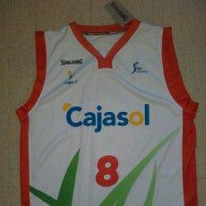 Coleccionismo deportivo: CAMISETA BALONCESTO SEVILLA BASKET CAJASOL SATORANSKY. Lote 198502895