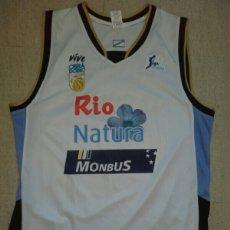 Coleccionismo deportivo: CAMISETA BALONCESTO OBRADOIRO BASKET ACB. Lote 198504926