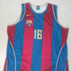 Coleccionismo deportivo: CAMISETA BALONCESTO FC BARCELONA BASKET GASOL. Lote 198510505