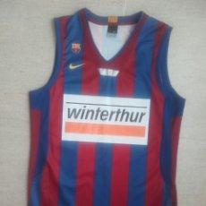 Coleccionismo deportivo: CAMISETA BALONCESTO FC BARCELONA BASKET NIKE FUCKA. Lote 198510896
