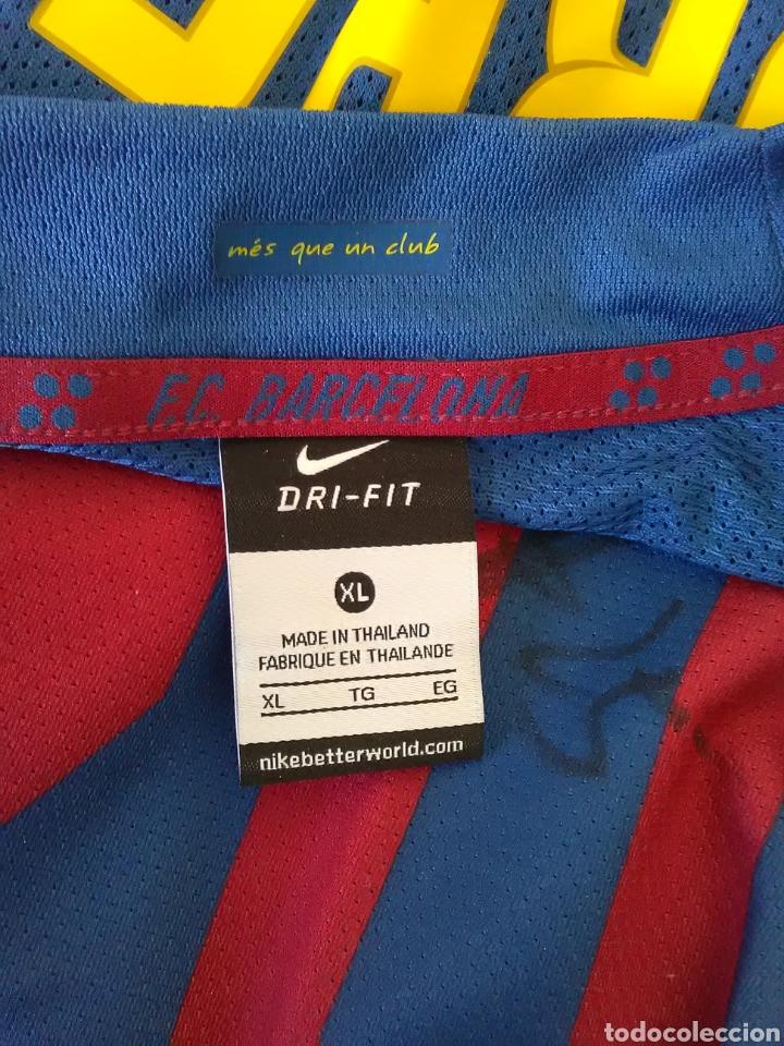 Coleccionismo deportivo: Camiseta oficial de Erazem Lorbek firmada. FCBarcelona sección baloncesto - Foto 4 - 84792484