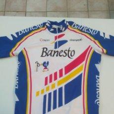 Coleccionismo deportivo: CAMISETA CICLISTA MAILLOT BANESTO. Lote 202991172