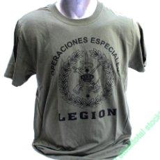 Coleccionismo deportivo: CAMISETA LEGION ESPAÑOLA OPERACIONES ESPECIALES TALLA L 32559. Lote 218492380