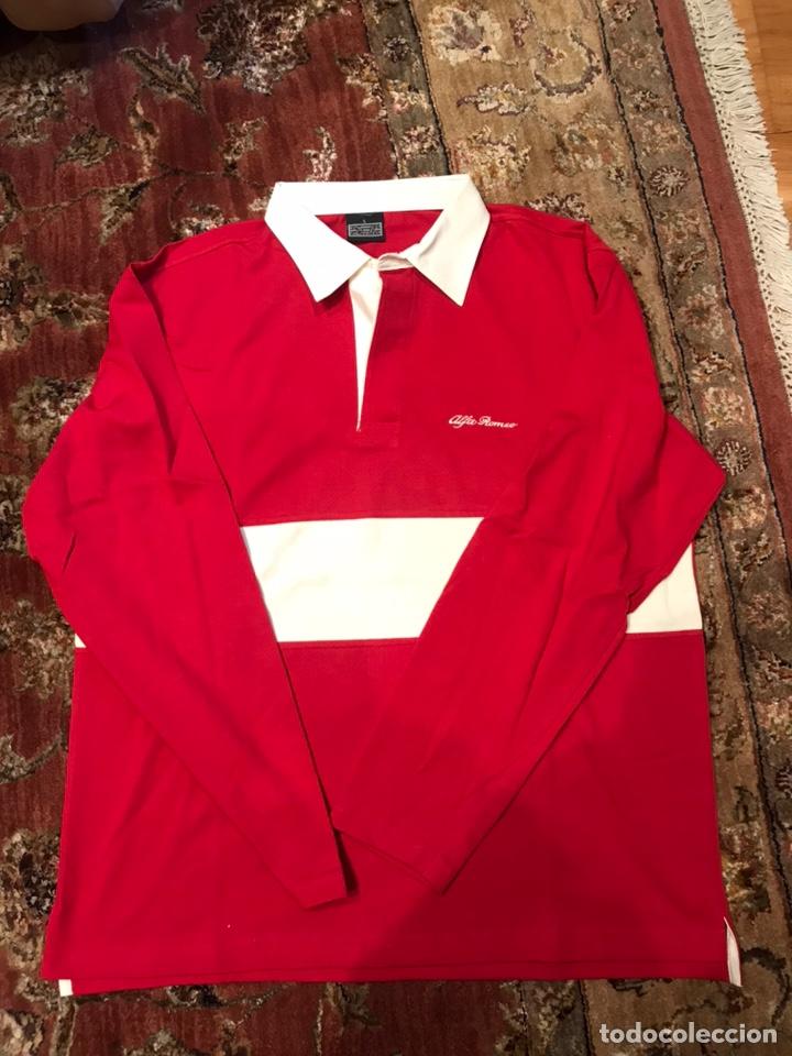 POLO ALFA ROMEO (Coleccionismo Deportivo - Ropa y Complementos - Camisetas otros Deportes)