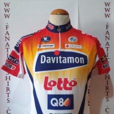 Coleccionismo deportivo: MAILLOT CICLISMO TEAM LOTTO DAVITAMON VERMARC 2005 SHIRT TRIKOT MAGLIA. Lote 205513767