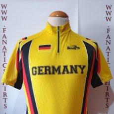 Coleccionismo deportivo: MAILLOT CICLISMO SELECCIÓN ALEMANIA BIEMME GERMANY MAGLIA CYCLING. Lote 205515140