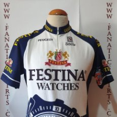 Coleccionismo deportivo: MAILLOT CICLISMO TEAM FESTINA WATCHES LOTUS SIBILLE TOUR DE FRANCE CYCLING. Lote 205516631