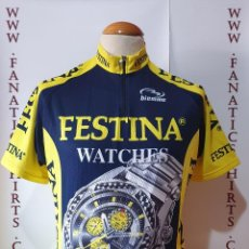 Coleccionismo deportivo: MAILLOT CICLISMO TEAM FESTINA BIEMME WATCHES MAGLIA CYCLING. Lote 205520376