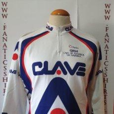 Coleccionismo deportivo: MAILLOT CICLISMO TEAM CLAVE CAN NALINI MAGLIA CYCLING. Lote 205521472