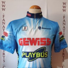 Coleccionismo deportivo: MAILLOT CICLISMO TEAM GEWISS PLAYBUS BIENME MAGLIA CYCLING. Lote 205522788