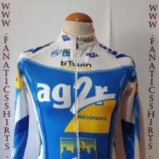 Coleccionismo deportivo: MAILLOT CICLISMO TEAM AG2R DECATHLON SHIRT TRIKOT MAGLIA CICLYNG. Lote 205526087