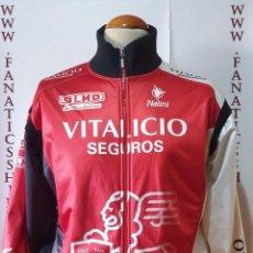 Coleccionismo deportivo: CHAQUETA CICLISMO VITALICIO SEGUROS NALINI ITALIA ESPAÑA MAGLIA CYCLING. Lote 205527710