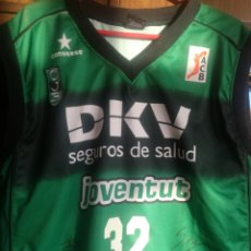 Coleccionismo deportivo: RICKY RUBIO LEGEND LUXE PLAYER DKV JOVENTUT MATCH WORN NBA SIGNED BASKET BASQUET SHIRT CAMISETA. Lote 205751471