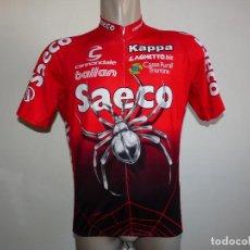 Coleccionismo deportivo: MAILLOT SAECO CANNONDALE KAPPA GILBERTO SIMONI. Lote 206476496