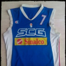 Coleccionismo deportivo: CAMISETA BALONCESTO SERBIA BASKET FIBA. Lote 206506842