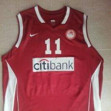 Coleccionismo deportivo: CAMISETA BALONCESTO OLYMPIACOS GRECIA BASKET LITUANIA. Lote 206507215