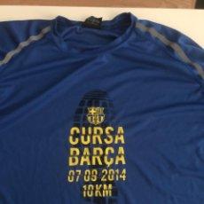 Collectionnisme sportif: SAMARRETA CURSA BARÇA 2014 FC BARCELONA RUNNING TALLA SIZE XXL. Lote 206803757