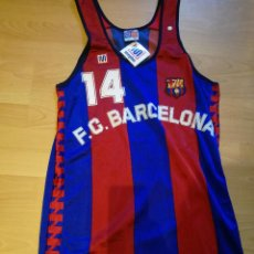 Coleccionismo deportivo: JEFF RULAND NBA FC BARCELONA FOR PLAYERS SHIRT BASKET ACB BASQUET MEYBA CAMISETA 76ERS PISTONS WORN. Lote 207200596