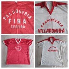 Coleccionismo deportivo: ANTIGUAS CAMISETAS INICIOS FÚTBOL-SALA RFEF EN GALICIA (1982). Lote 210112787