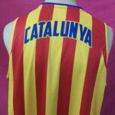 Coleccionismo deportivo: CAMISETA BASQUET FCBQ FEDERACION CATALANA DE BASKET SPALDING CATALUNYA TALLA L. Lote 210271635