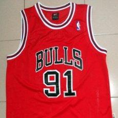 Coleccionismo deportivo: CAMISETA ANTIGUA OFICIAL NBA CHICAGO BULLS DENNIS RODMAN - ORIGINAL NIKE - NBA BALONCESTO BASKET. Lote 210606737
