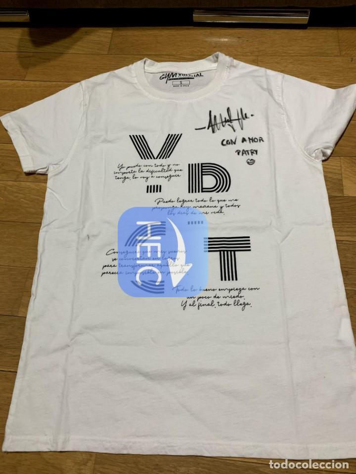 Coleccionismo deportivo: La entrenadora personal PATRY JORDAN nos dona una camiseta de GYM VIRTUAL (Talla S) - Foto 2 - 210974517