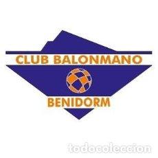 Coleccionismo deportivo: EL BM BENIDORM NOS DONA DOS CAMISETAS DEL JUGADOR DIEGO RUEDA (TALLA L). Lote 210977219