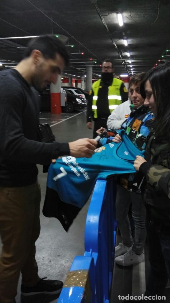 camiseta del real madrid de baloncesto firmada - Comprar ...
