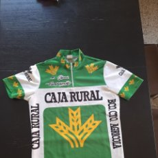 Collectionnisme sportif: CAMISETA MAILLOT CICLISTA CICLISMO ORIGINAL SANCHESKI CAJA RURAL CLEMANT CAMPAGNOLO. Lote 212438236