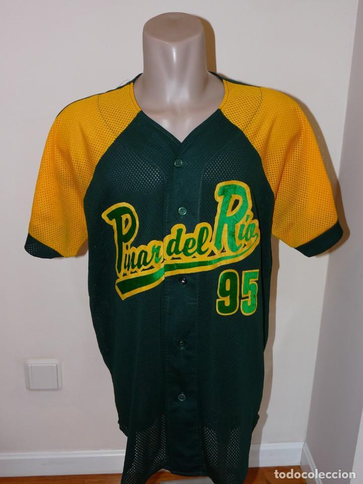 CAMISETA DE BEISBOL PINAR DEL RIO (Coleccionismo Deportivo - Ropa y Complementos - Camisetas otros Deportes)