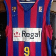 Coleccionismo deportivo: RICKY RUBIO LEGEND FC BARCELONA L CAMISETA SHIRT BASKET BASQUET. Lote 213047556