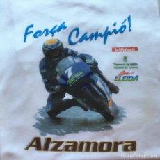 Coleccionismo deportivo: CAMISETA MOTOCICLISMO EMILI ALZAMORA LLEIDA CAMPEON DEL MUNDO 125CC EN 1999. Lote 214339322