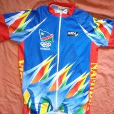 Coleccionismo deportivo: MAILLOT CICLISMO SELECCIÓN NAMIBIA. MUY DIFÍCIL. TALLA S. CYCLING JERSEY. Lote 214425121