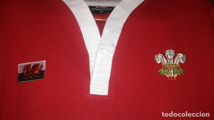 Coleccionismo deportivo: Camiseta Rugby Equipo de Gales. Sin estrenar - Foto 2 - 215057335