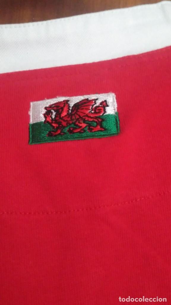 Coleccionismo deportivo: Camiseta Rugby Equipo de Gales. Sin estrenar - Foto 5 - 215057335