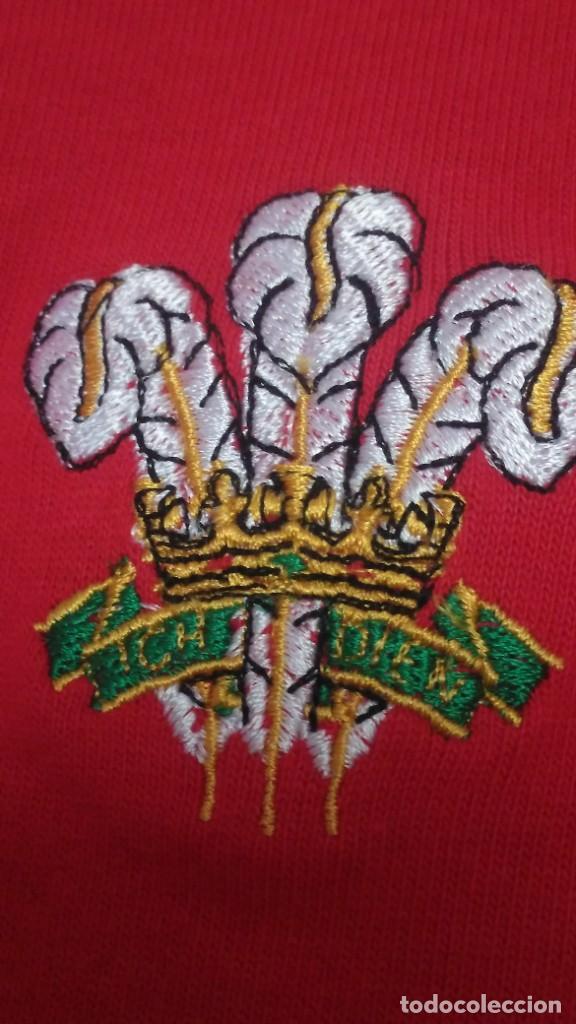 Coleccionismo deportivo: Camiseta Rugby Equipo de Gales. Sin estrenar - Foto 7 - 215057335