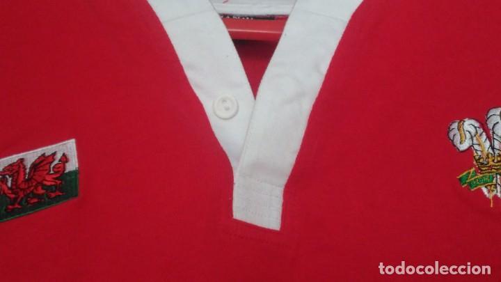 Coleccionismo deportivo: Camiseta Rugby Equipo de Gales. Sin estrenar - Foto 8 - 215057335