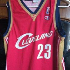 Collezionismo sportivo: LEBRON JAMES CLEVELAND CAVALIERS EQU L NBA CAMISETA SHIRT BASKET BASQUET. Lote 216410405