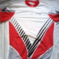 Coleccionismo deportivo: MAILLOT CICLISMO VINTAGE ERIMA 100% POLIÉSTER 59 CMS AXILAS CYCLING JERSEY. Lote 216664218
