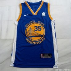 Collezionismo sportivo: CAMISETA BASKET NIKE BALONCESTO NBA GOLDEN STATE WARRIORS 35 KEVINT DURANT.TALLA 44 UNA S/M. Lote 217457745