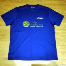 Coleccionismo deportivo: CAMISETA RUNNING ULTRA TRAIL MALLORCA, ASICS. Lote 217976581