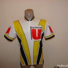 Coleccionismo deportivo: MAILLOT DE CICLISMO SYSTEME U. Lote 218015346