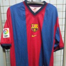 Coleccionismo deportivo: FC BARCELONA 1998 L SHIRT CAMISETA FUTBOL FOOTBALL. Lote 218070486