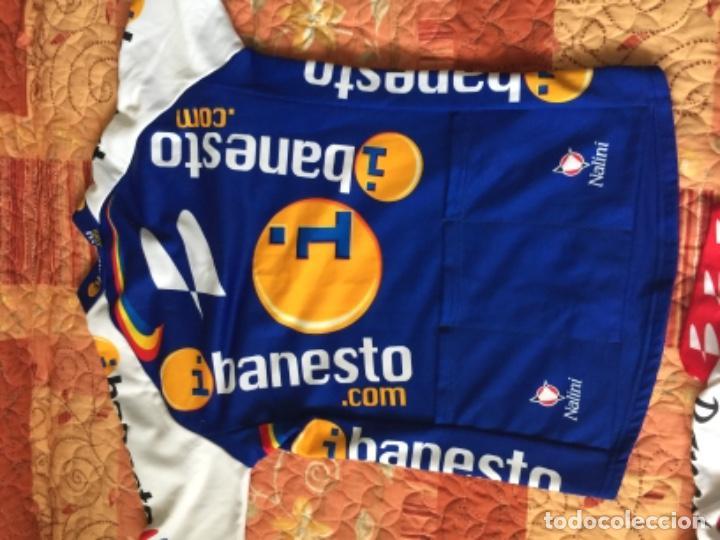 Coleccionismo deportivo: 2 MAILLOT DE CICLISMO BANESTO - Foto 3 - 218075267