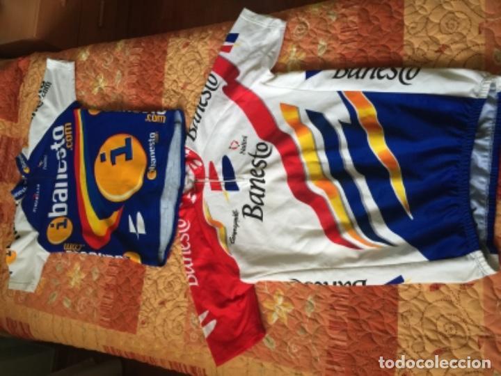 Coleccionismo deportivo: 2 MAILLOT DE CICLISMO BANESTO - Foto 4 - 218075267
