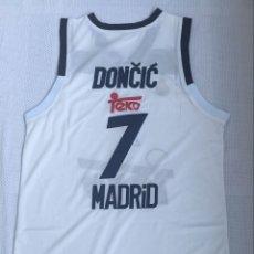 Coleccionismo deportivo: CAMISETA BALONCESTO REAL MADRID LUKA DON?I?. Lote 218128233