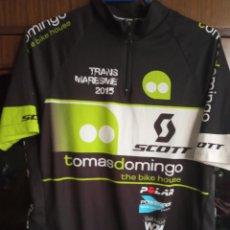 Coleccionismo deportivo: TOMAS DOMINGO MAILLOT CICLISMO CICLISTA JERSEY CYCLING XL. Lote 218471558