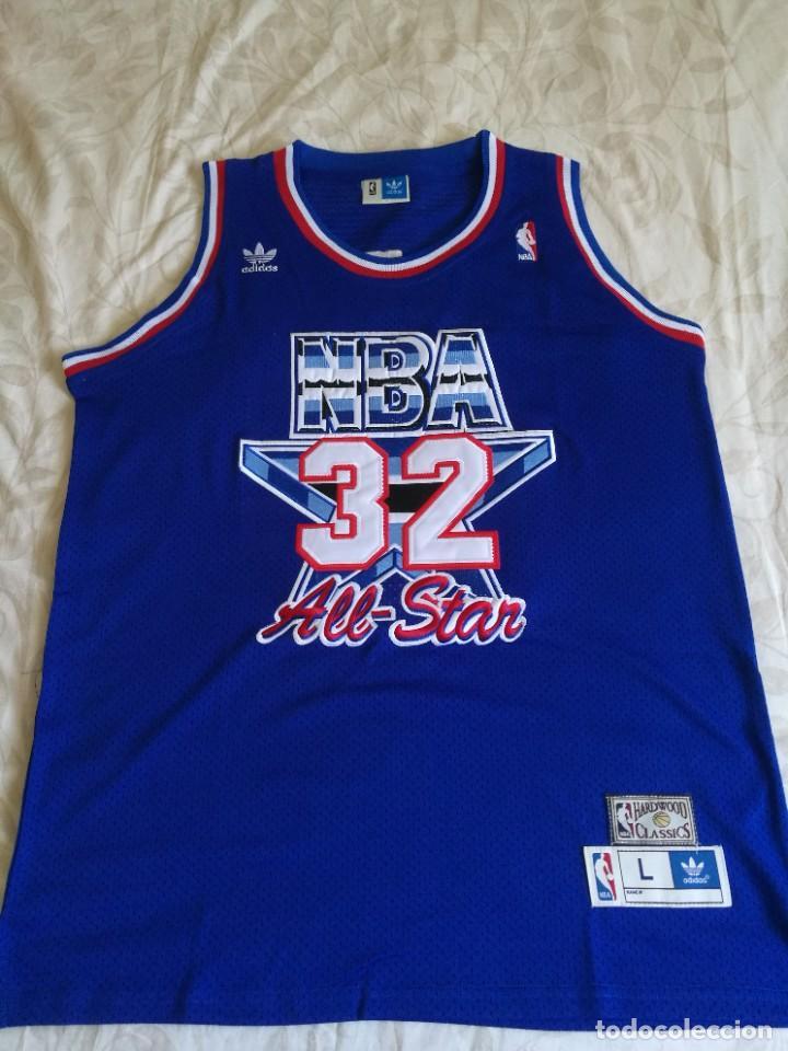 CAMISETA BALONCESTO EARVIN MAGIC JOHNSON ALL STAR NBA 1992 (Coleccionismo Deportivo - Ropa y Complementos - Camisetas otros Deportes)